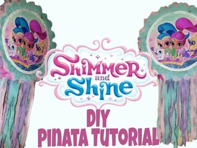 DIY Shimmer and Shine Pinata | How to