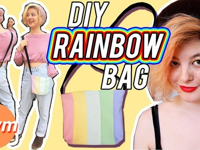 DIY Square Bottom Bag with a Zipper ???? Get Thready With Me #17