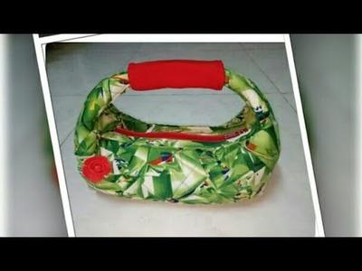 DIY : Stylish Handbag Tutorial No.11, By Anamika Mishra. .