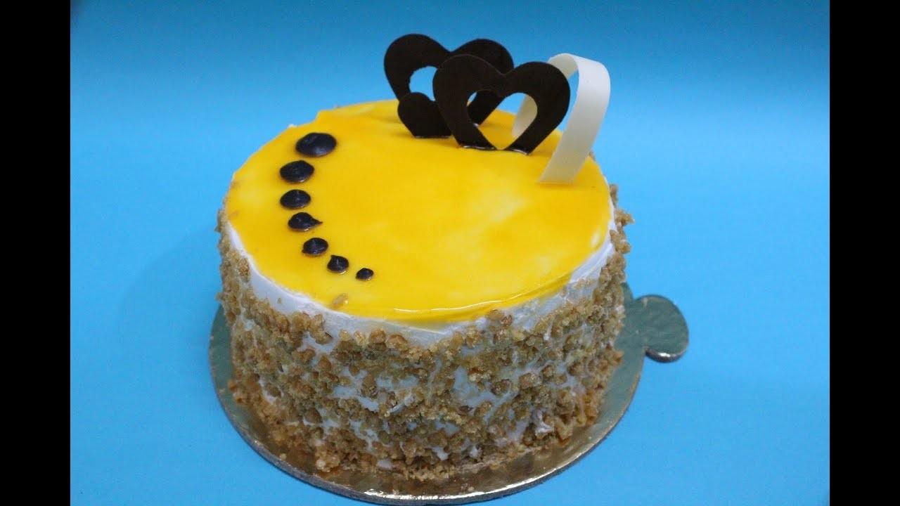 how to make eggless cake at home