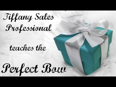 How to Tie a TIFFANY BOW | Easy Step by Step Tutorial