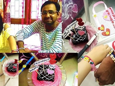 Ideas to Celebrate    How I Celebrated My Friendship Day 2018    DIY Vlog    Indian YouTuber Simmz
