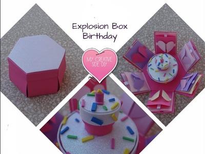 Kako napraviti kutiju iznenadjenja za rodjendan  DIY  Explosion GIft Box for Birthday