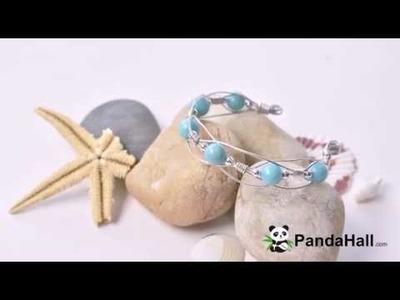 PandaHall Tutorial on Making Elegant Summer Bracelet