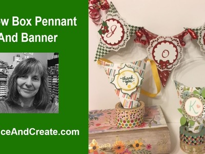 Pillow Box Pennant And Banner Treat Holders Easy Tutorial