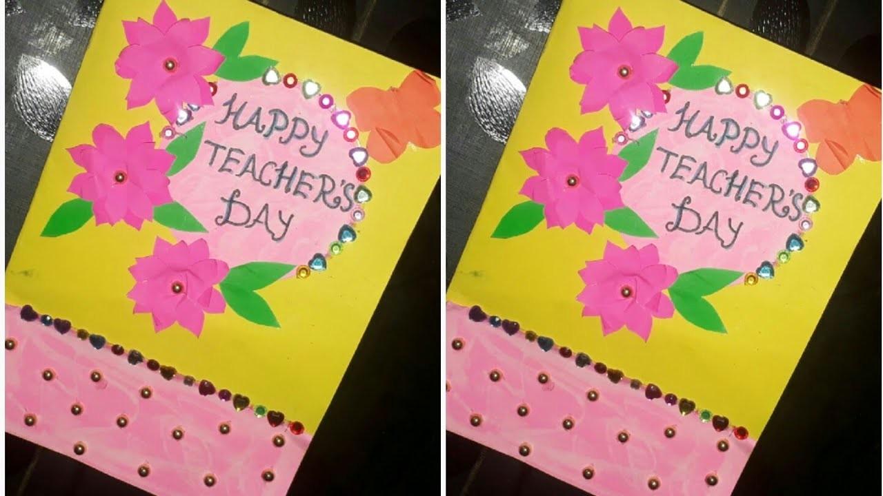 Teachers Day CardDIY CardTeachers Gift IdeaBirthday Card IdeasBirthday