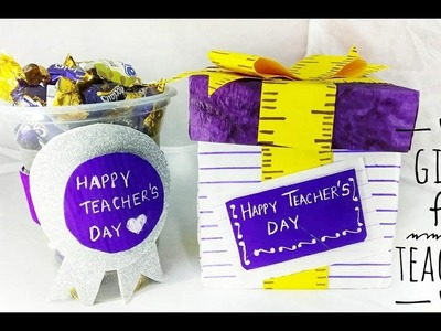 Teacher's Day Gifts | DIY Gifts for Teacher| Teachers Day card | Cards for Teachers Day