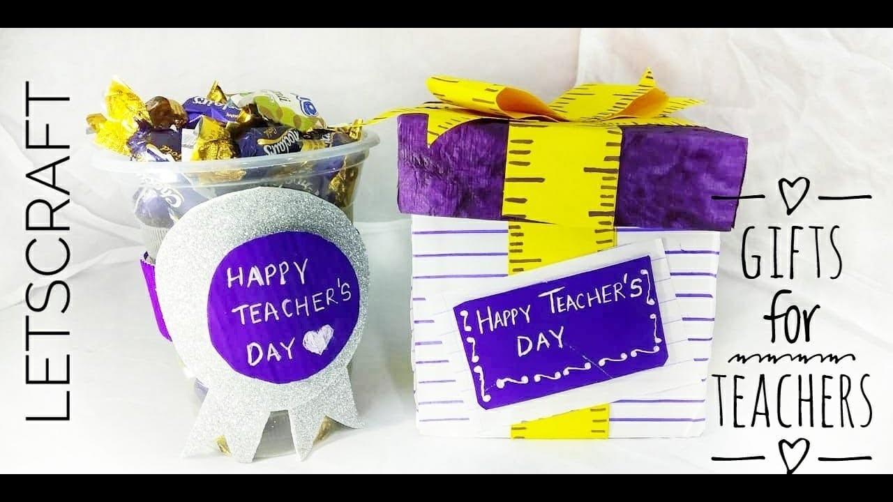 Teacher's Day Gifts | DIY Gifts for Teacher| Teachers Day card | Cards for Teachers Day