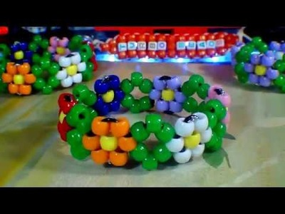 TurboBeads: Diamond Daisy Bracelet Tutorial