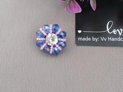Tutorial Bros Dagu Kristal Diamond - DIY Beads Tutorial Handmade Jewelry Making