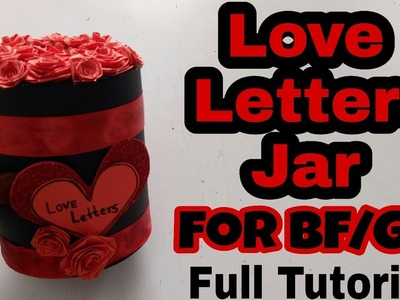Tutorial of Love Letters(Love Letters Jar) || Love Letters Jar||Burned Love Letters inside Jar.