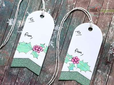 Unity Quick Tip: DIY Holiday Gift Tags with Oxides