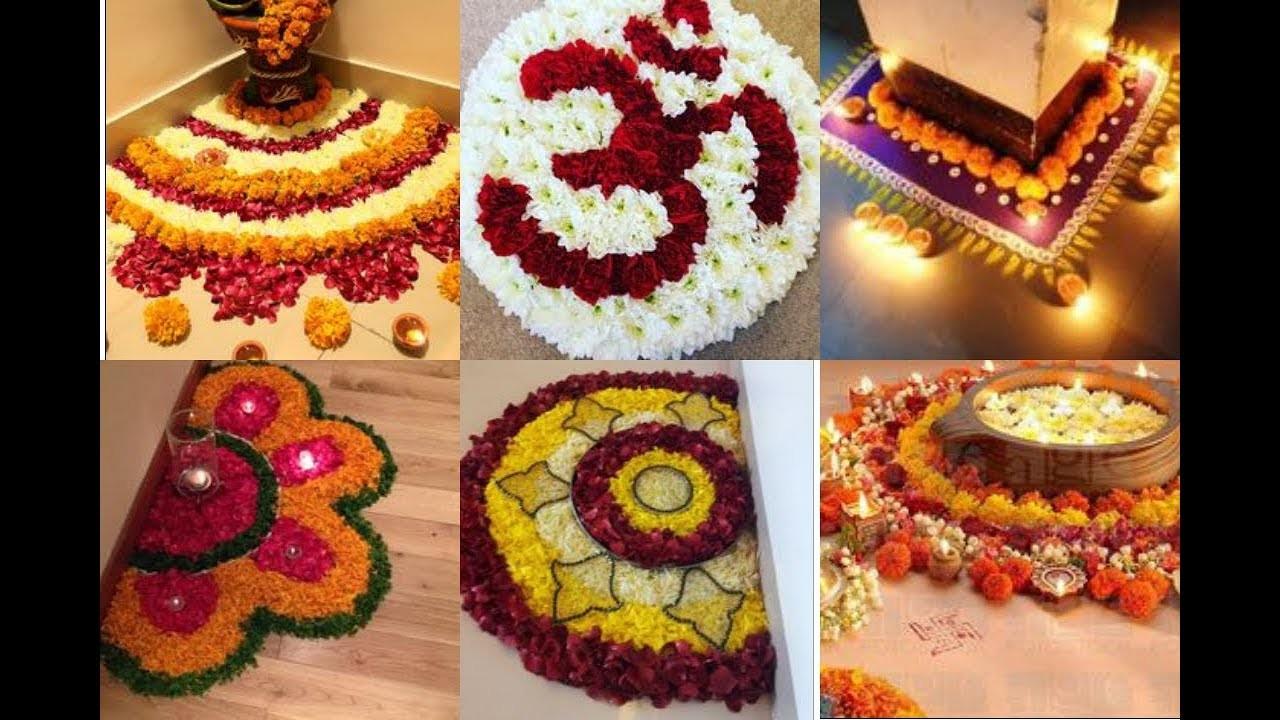 Back Ground Decoration For Festivals (Vara Lakshmi Pooja.Ganesh Chaturthi.Dussehra) - DIY ideas