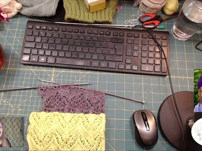 Day 5:  Learn to Knit A Japanese Knitting Stitches Sampler Knit-A-Long Morning Show