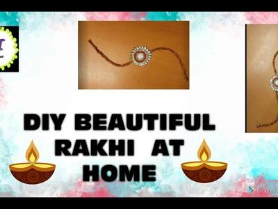 DIY Beautiful and Elegant rakhi || Rakshabandhan Special|| Creative ideas ss