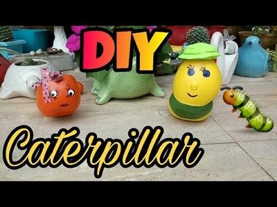 DIY Cemented Caterpillars [EASY METHOD]
