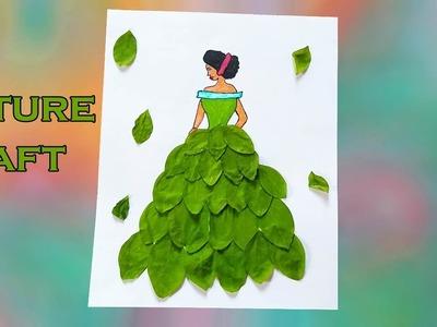 DIY Doll Decoration Idea | How to Make Paper Dolls Dress