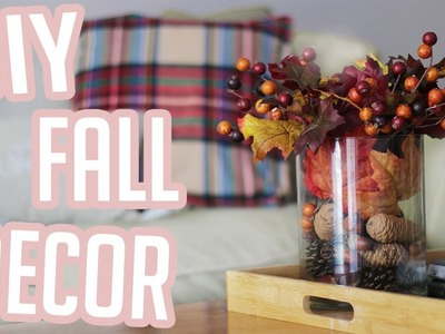 DIY Fall Decor, Budget Friendly DIY Fall Decor, DIY Fall Decorations