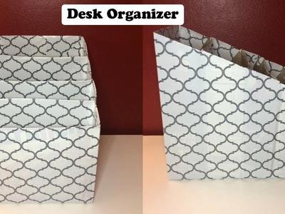 DIY: Paper Organizer for Desk!