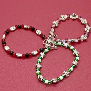 Kids Bead Bracelets in Various Colors
