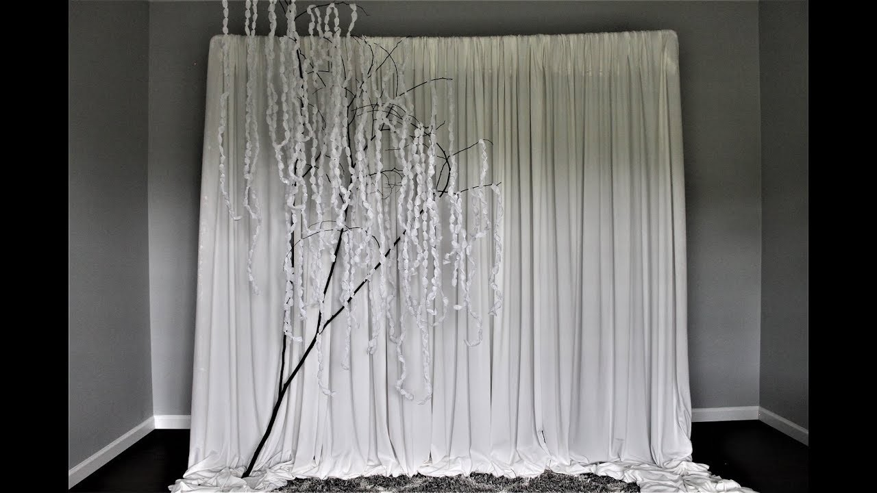 Wisteria Tree Backdrop DIY | How To | Easy and Very Affordable