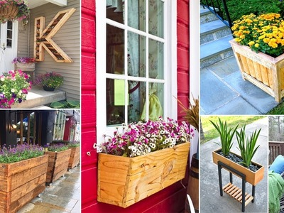 100+ Amazing DIY wooden planter box ideas | DIY Garden