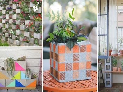 100 Creative Cinder Block for Garden   DIY Garden