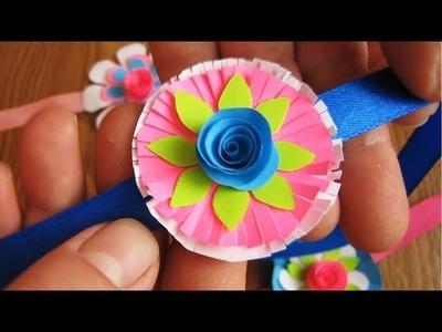 DIY. Super Easy Rakhi Making For Kids School Competition