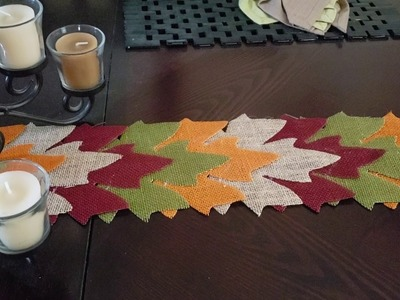 Dollar Tree Fall DIY???? Table Runner???? 2018