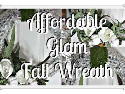 ????????Fall Glam DIY|| ????????Wreath Upcycle????????