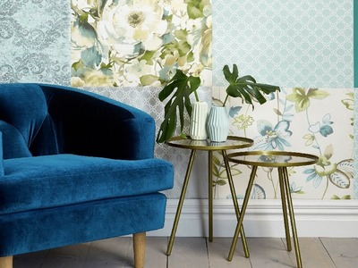 How to create a patchwork wall