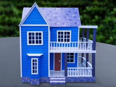 How to Make a DIY Miniature House - Dreamhouse