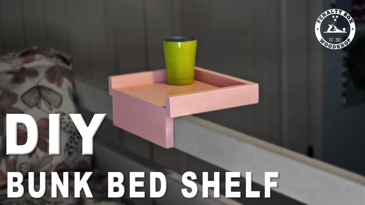 How to Make a Hook On Bunk Bed Shelf - DIY