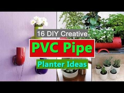 PVC Pipe Planter Ideas | 16 Unimaginable DIY PVC Pipe Planters To Create A PVC Garden