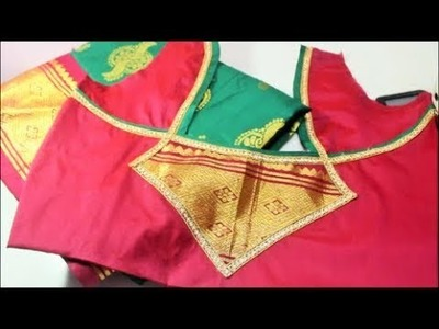 Wedding Blouse for Pattu Saree Cutting and Stitching-Tamil(DIY)