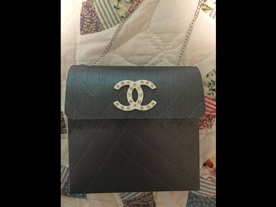 Chanel Inspired Paper Purse Tutorial