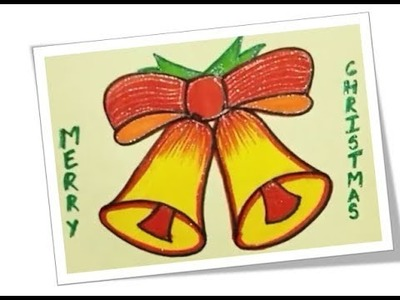 Christmas bells greeting card | Jingle Bells Handmade Card