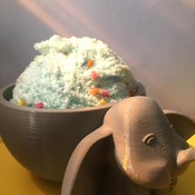 Dumbo Yarn Bowl, Unique. Home Made High Quality *Disney* - yarn Bowl - Knitting Bowl - Wool Holder