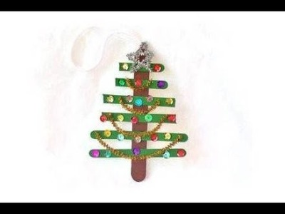 How to Make Christmas Tree Decorative- HomeArtTv by Juan Gonzalo Angel