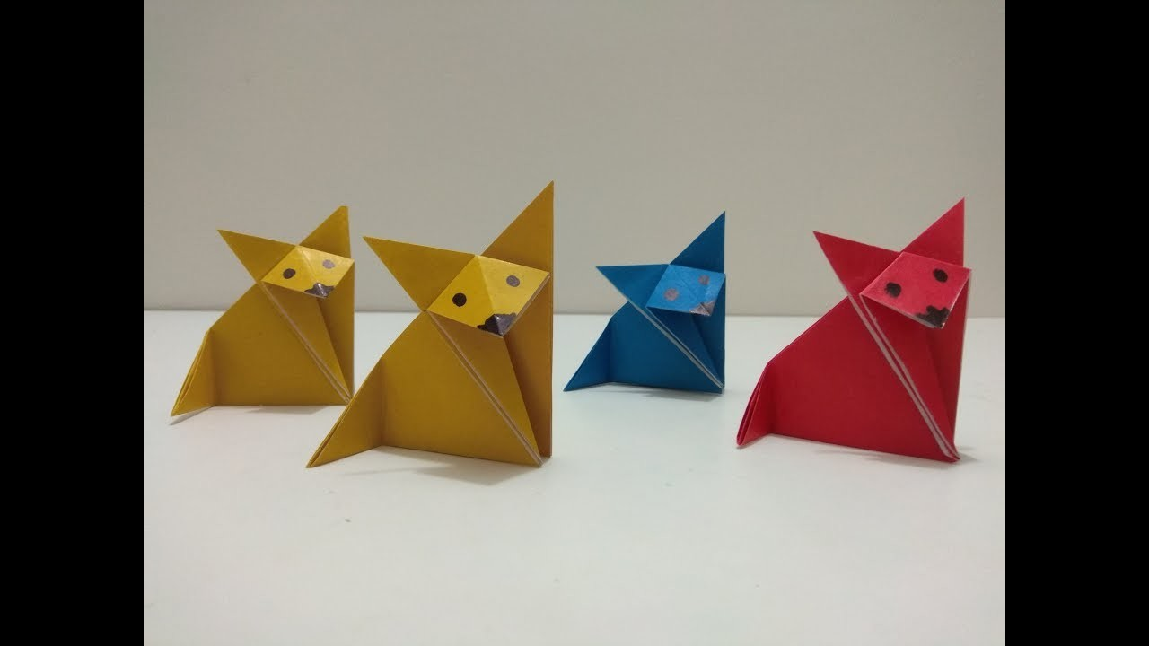how to make paper origami