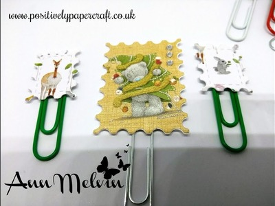 Stamp Style Paper Clips & Tulle Bows! #3 Embellishment Ideas