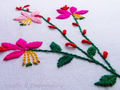 Simple Flower Designs For Embroidery For Hand Flowers Healthy