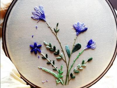 Hand embroidery designs   Flower tree design