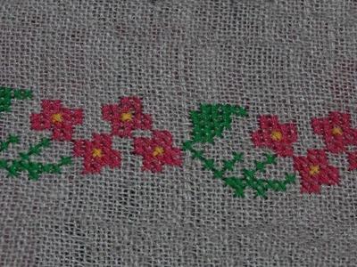 Design Latest Easy Stylish Hand Embroidery Pattern On Kurti