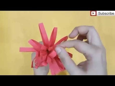 Simple Paper Crafts How To Make A Paper Honeycomb Ball Paper
