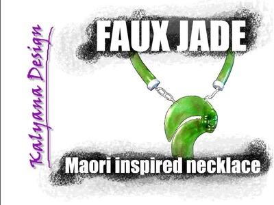 Faux jade (ver 2) Premo and Pardo + bonus polymer clay tutorial 258