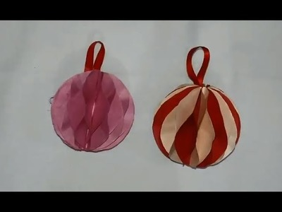 For Diwali Decoration How to Make a Foldable Decorative Ball Easily at Home !