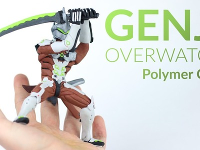 Genji (Overwatch) – Polymer Clay Tutorial