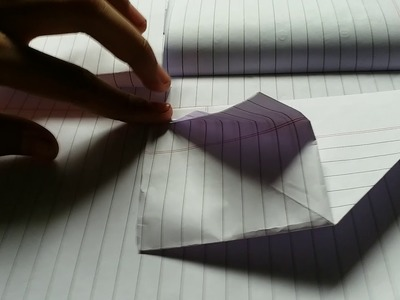 How to make a swam paper divider