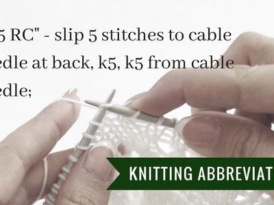 Knitting instructions 5.5 RC | Pattern Duchess